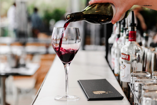 Finest Selection of wines at South Perth's best restauarnt Rambla on Swan